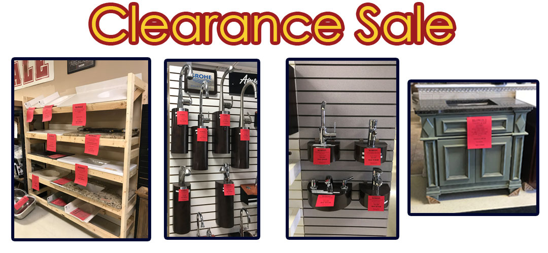Select Clearance Items on Sale